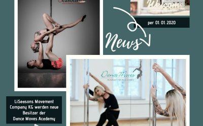 Dance Moves geht per 01.01.2020 in eine neue Ära und bekommt neue Besitzer!